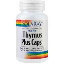 Thymus Plus Caps, 60 capsule, Solaray