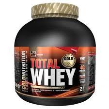 Total Whey protein Gold Nutrition, aroma ciocolata, 2kg