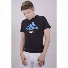 Tricou Community Judo Copii, 140cm, negru