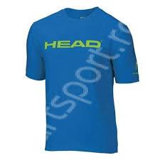 Tricou tenis junior baieti Head Brand - albastru
