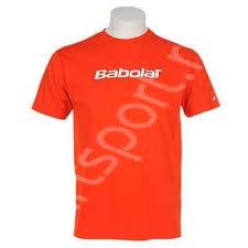 Tricou baieti Babolat Basic - portocaliu