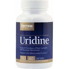 Uridine 250mg, 60 capsule, Jarrow Formulas