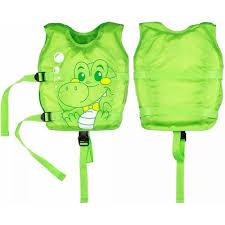 Vesta de salvare pentru copii, verde, Bestway